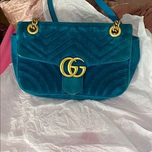 Small Authentic Gucci Marmont Bag
